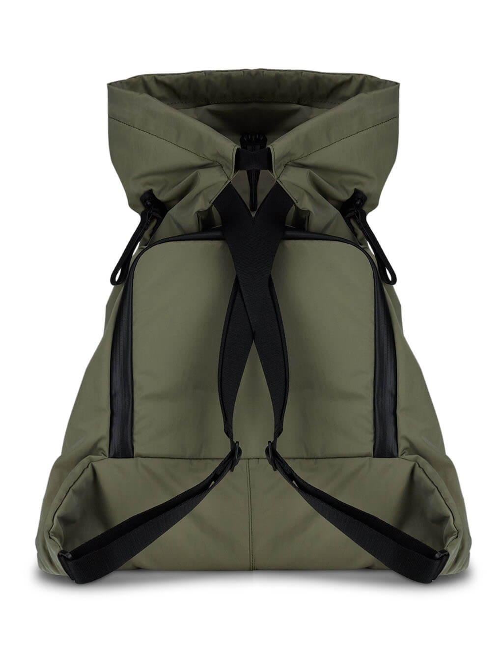 Khaki Green côte&ciel Genil Smooth Backpack 28837