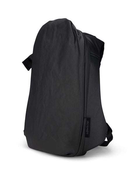 côte&ciel Men's Black Isar Coated Canvas Rucksack 28331