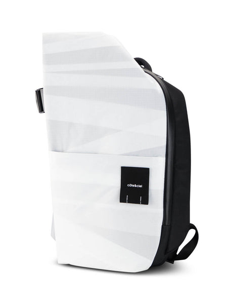côte&ciel White Isar M Layered Backpack 28886