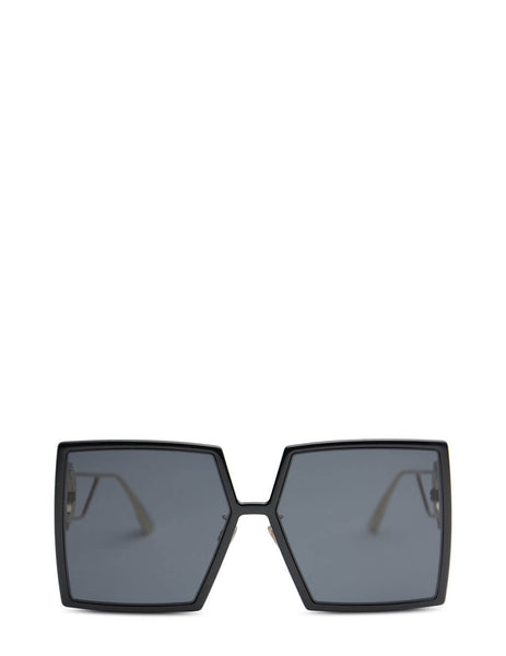 Unisex Dior Eyewear 30Montaigne SU Sunglasses in Black - DIOR30MONTAIGNE807