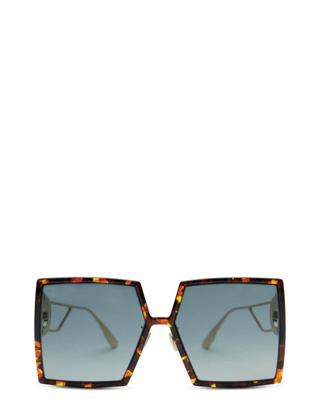 Unisex Dior Eyewear 30Montaigne SU Sunglasses in Yellow - DIOR30MONTAIGNE