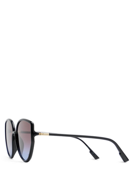 Unisex Dior Eyewear SoStellaire4 Sunglasses in Black - SOSTELLAIRE4807