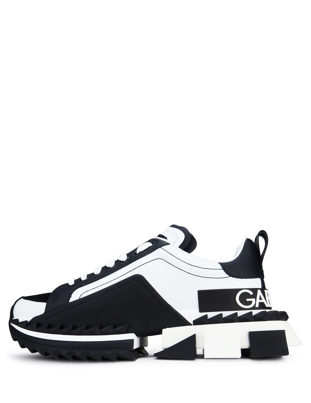 Dolce&Gabbana Men's Giulio Fashion Black/White Super Sneakers CS1649AZ69289697