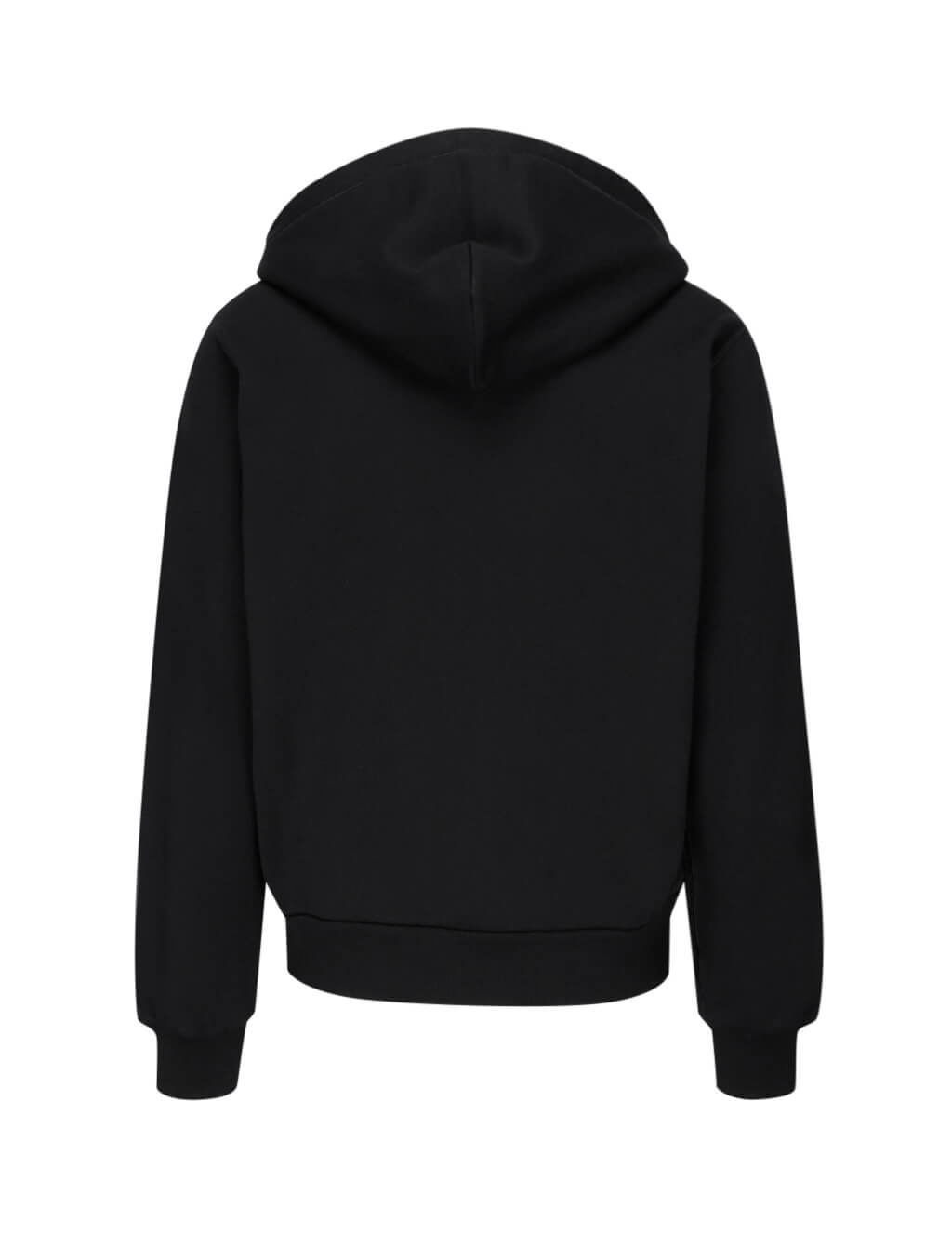 Dolce&Gabbana Men's Black Cotton Zip-Up Hoodie G9PD2TFU7DUN0000