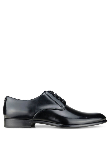 Dolce&Gabbana Men's Giulio Fashion Black Derby Shoes A10306AC46080999