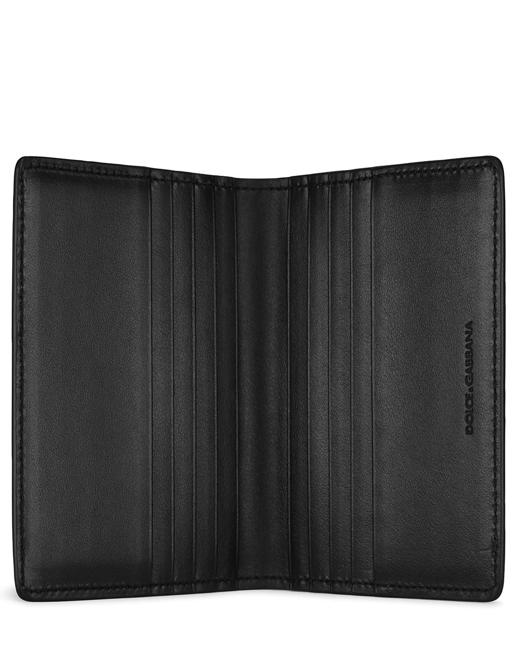 Dolce & Gabbana Men's Giulio Fashion Black Folding Cardholder BP2458AZ10680999