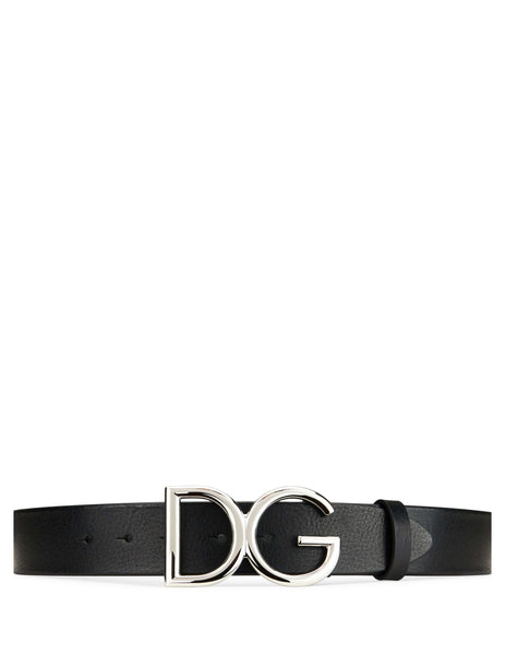 Dolce&Gabbana DG Logo Belt Black BC4245AI89487653 Men's Giulio Fashion