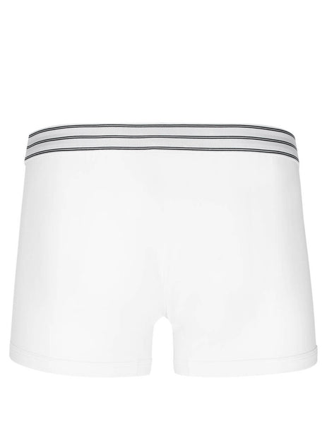 Dolce&Gabbana Men's Single Pack of White Regular Boxer Shorts m4b36jfugiaw0800