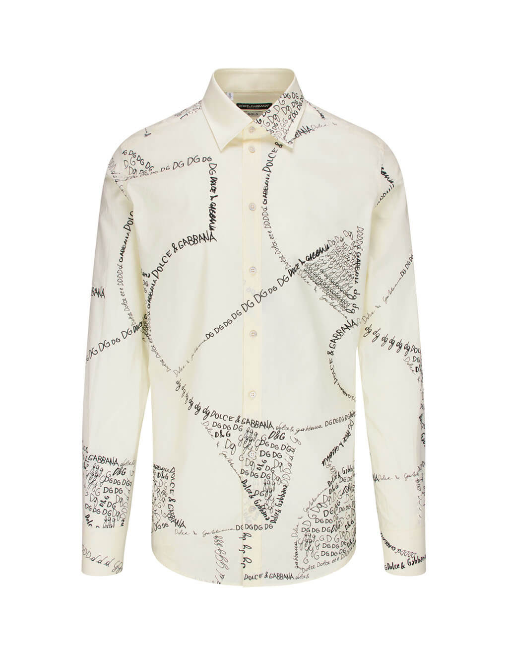 Dolce&Gabbana Men's Giulio Fashion Cream DNA Shirt  G5FT8THP570HA2ER