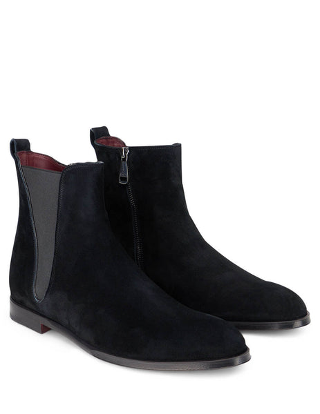 Men's Black Dolce&Gabbana Giotto Chelsea Boots A60323AA41580999