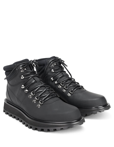 Dolce&Gabbana Men's Giulio Fashion Black Hiking Style Boots A60226AA5388B956
