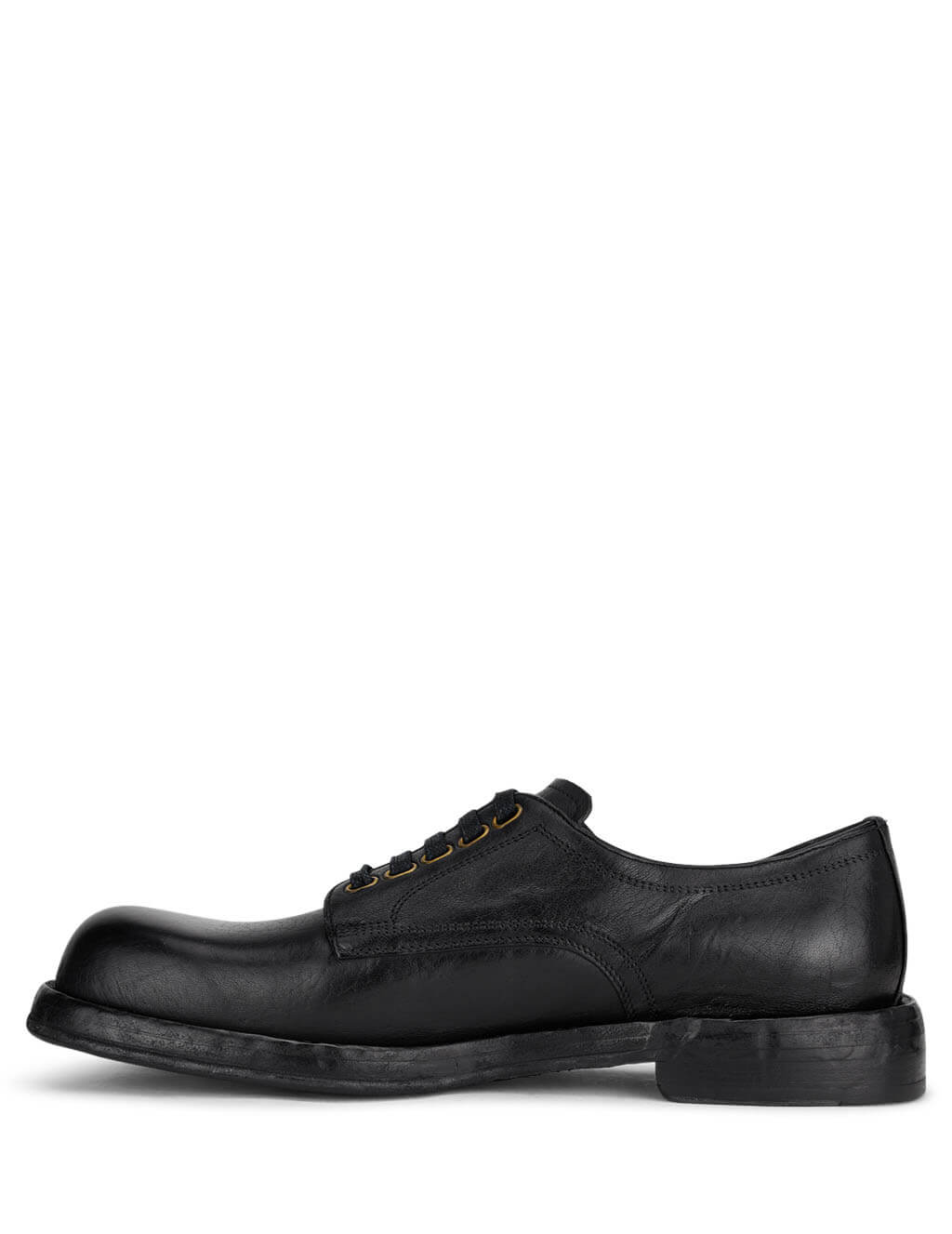 Dolce&Gabbana Men's Black Laced Derby Shoes  A10638AW35280999