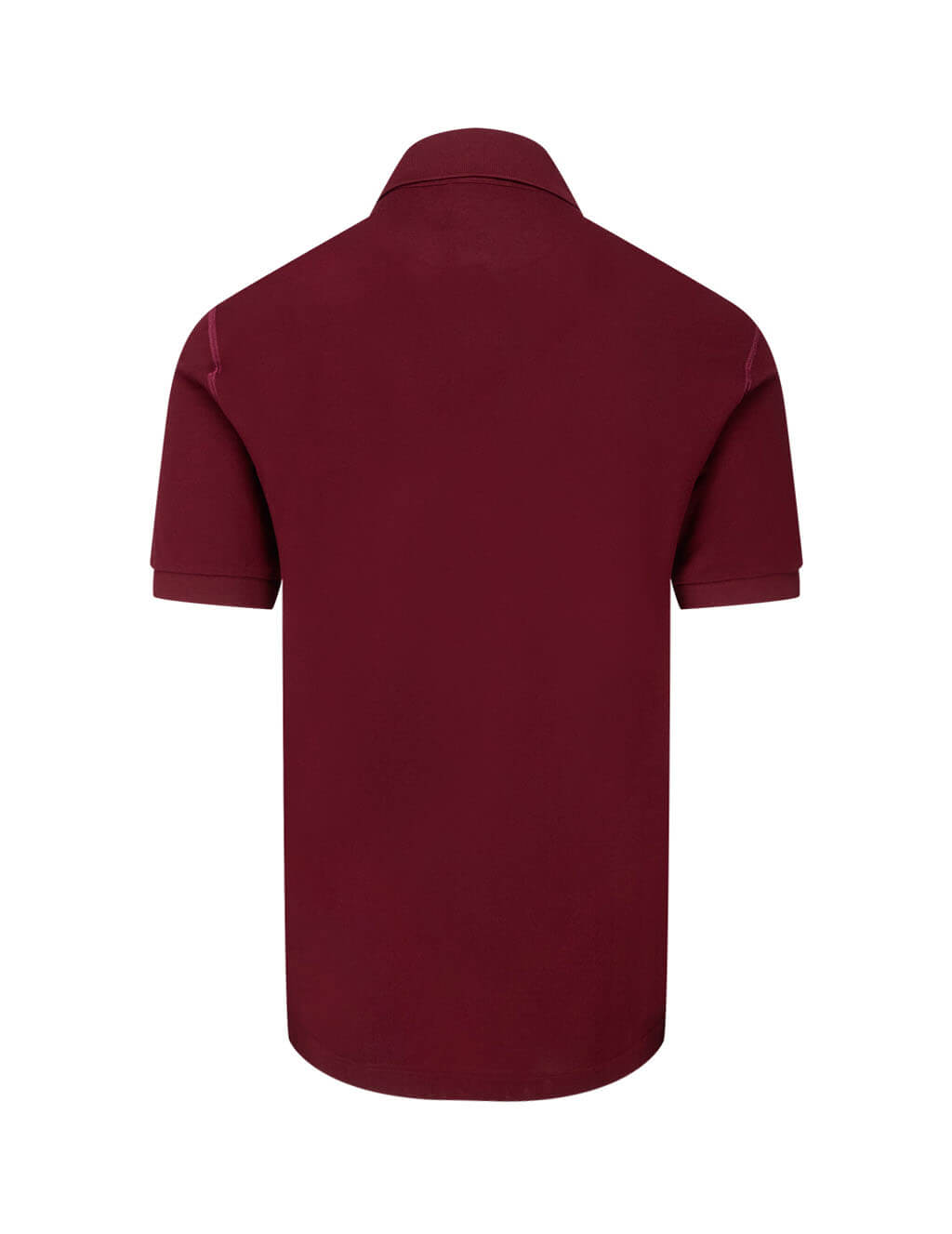 Dolce&Gabbana Men's Red Logo Plaque Polo Shirt G8KK1TFU7ENR0369