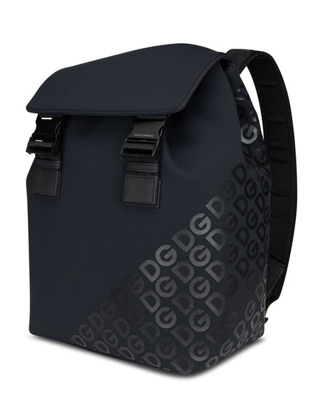 Dolce&Gabbana Men's Giulio Fashion Black Millennials Backpack BM1809AJ772HNNDN