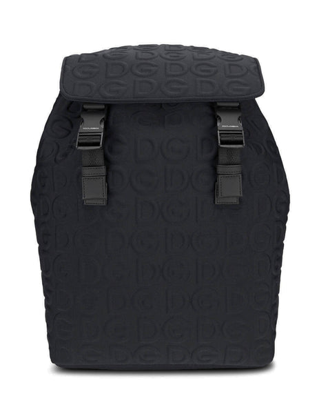 Dolce&Gabbana Men's Giulio Fashion Black Palermo Backpack BM1756AW1418B956