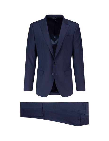Dolce&Gabanna Men's Giulio Fashion Dark Blue Slim-Fit Suit GK0RMTFU3N7B0387