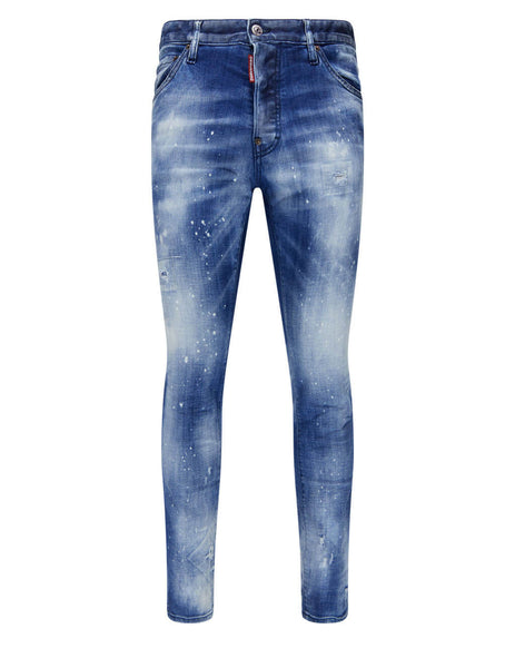 Men's Dsquared2 Cool Guy Jeans in Blue - S74LB0930S30342470