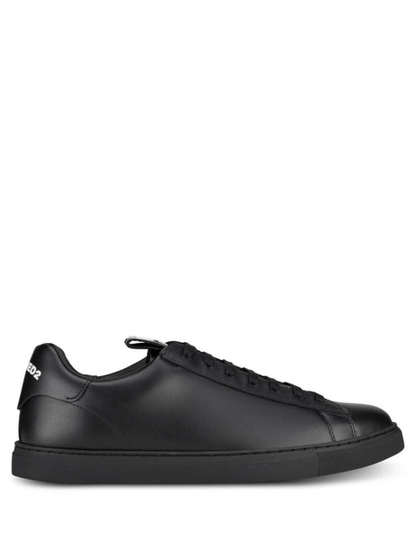 Men's Black Dsquared2 New Tennis Sneakers SNM007901501155M436