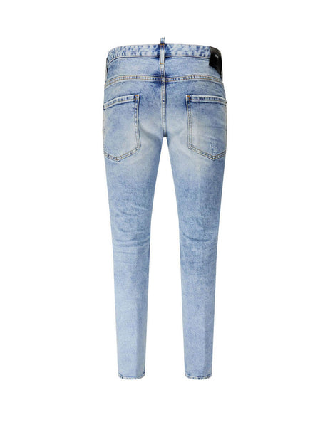 Dsquared2 Men's Giulio Fashion Blue 1964 Jeans S74LB0746S30663470