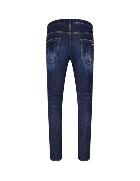 Dsquared2 Men's Giulio Fashion Indigo Cool Guy Jeans S74LB0679S30664470
