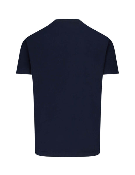 Dsquared2 Men's Giulio Fashion Navy D2 Leaf T-Shirt S74GD0706S22427478