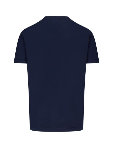 Dsquared2 Men's Giulio Fashion Navy DSQ2 T-Shirt S74GD0725S22427478