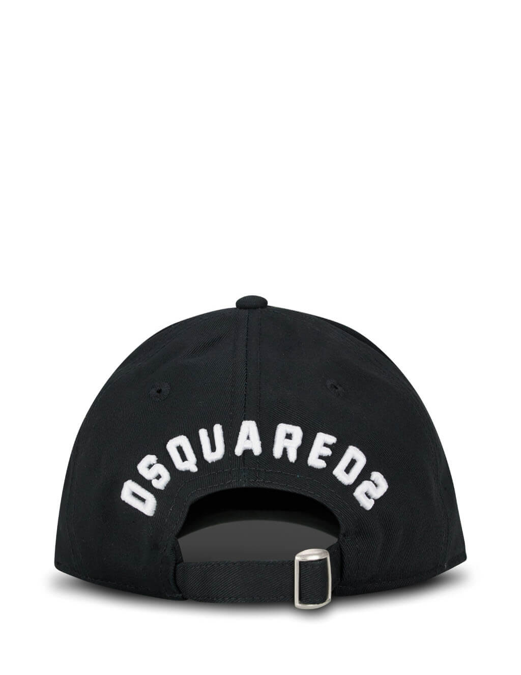 Dsquared2 Men's Giulio Fashion Black Embroidered Baseball Cap BCM015905C00001M063