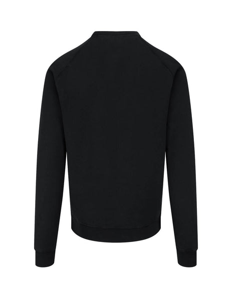 Dsquared2 Men's Giulio Fashion Black Logo Sweatshirt S74GU0460S25030900