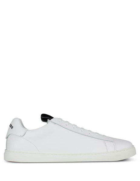 Dsquared2 Men's Giulio Fashion White New Tennis Sneakers SNM007901501155M072