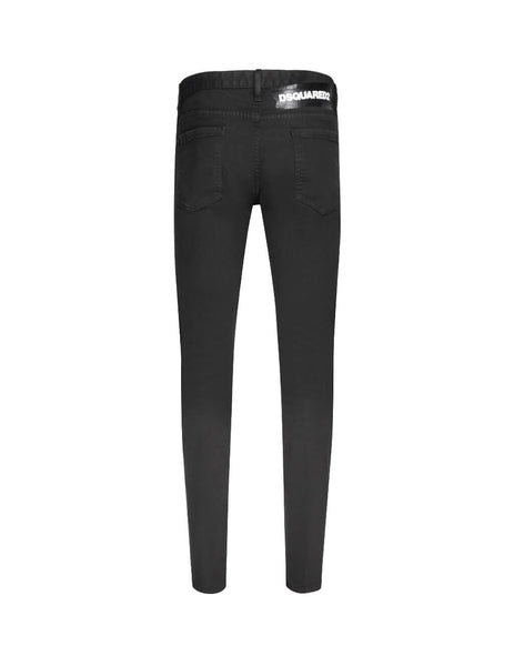 Dsquared2 Men's Giulio Fashion Black Patch Slim Jean S74LB0618S39781900