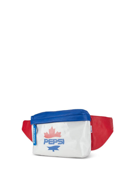 Men's White Dsquared2 Pepsi Belt Bag BBM0010358028711062