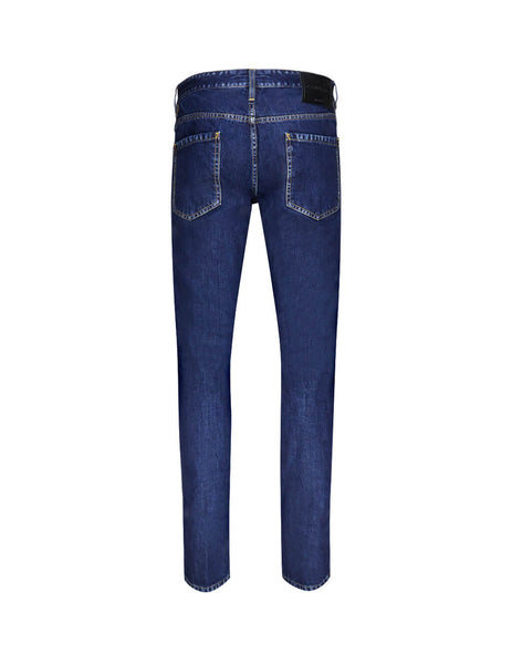 Dsquared2 Men's Giulio Fashion Blue Slim Jean S74LB0578S30309470