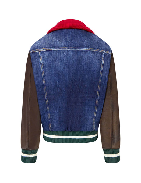 Dsquared2 Men's Giulio Fashion Blue Sports Jacket  S74AM1052S30309470