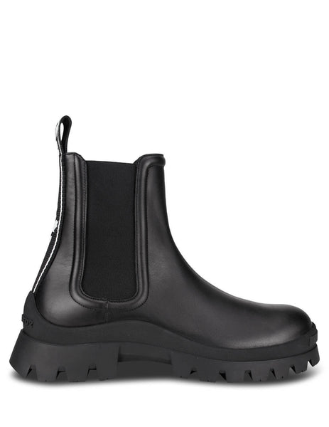 Dsquared2 Men's Black Tape Ankle Boots ABM006001501155M436