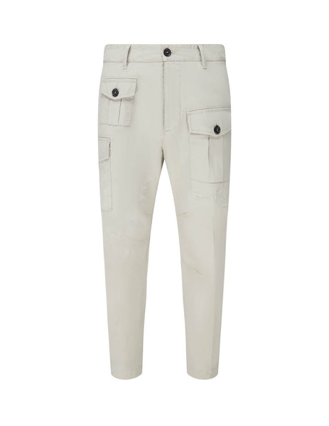 Dsquared2 Men's Giulio Fashion Stone Tapered Cargo Trousers S74KB0464S41794800
