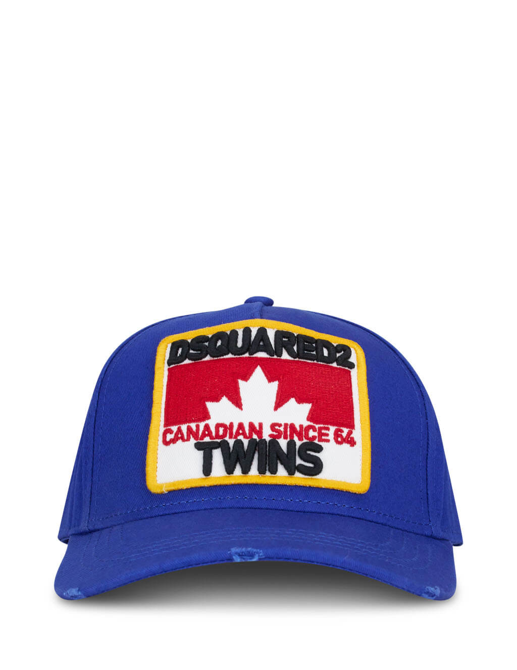 Dsquared2 Men's Giulio Fashion Blue Twins Baseball Cap BCM016005C000013062