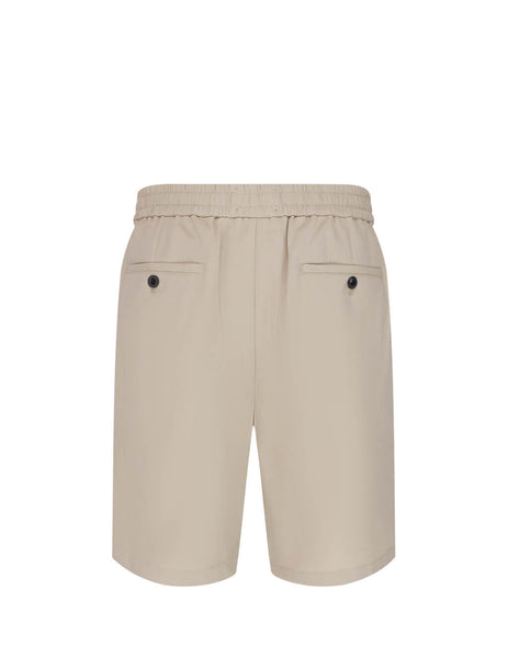 Men's Clay AMI Elasticated Waist Bermuda Shorts E20HT300.246 263