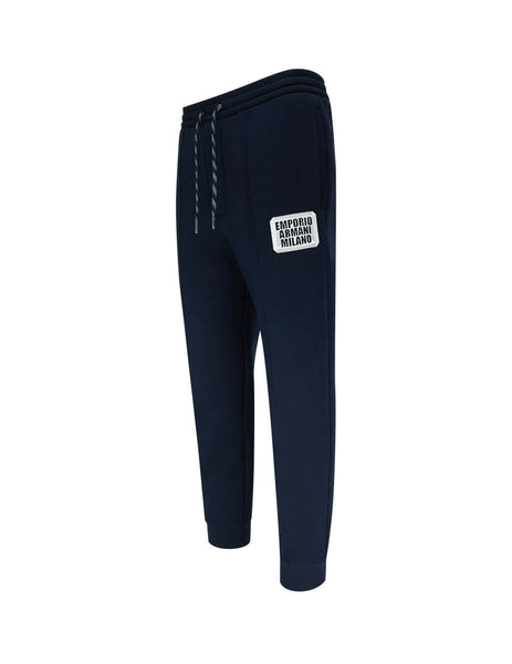 Men's Dark Blue Emporio Armani Casual Sweatpants 3H1PN41JHSZF981