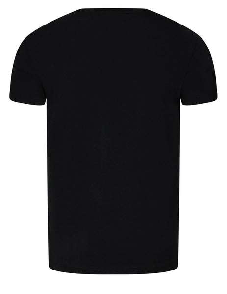 Men's Emporio Armani Eagle Print Pima Cotton T-Shirt in Black - 8N1T991JNQZ10999