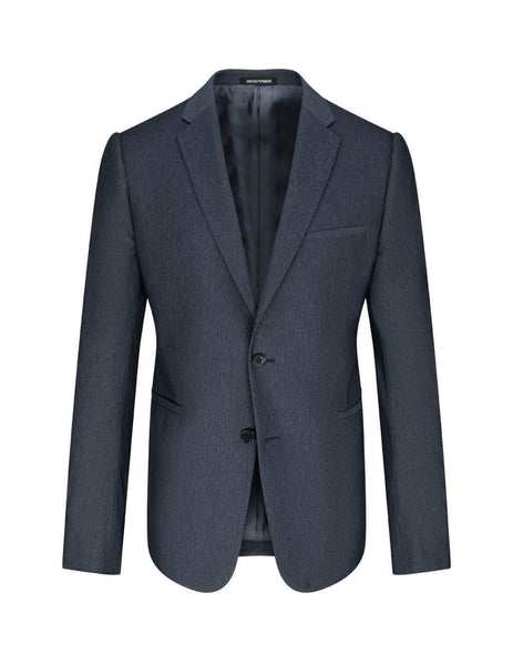 Emporio Armani Men's Giulio Fashion Aviatin Blue Marl Suit 51VMJL51583919