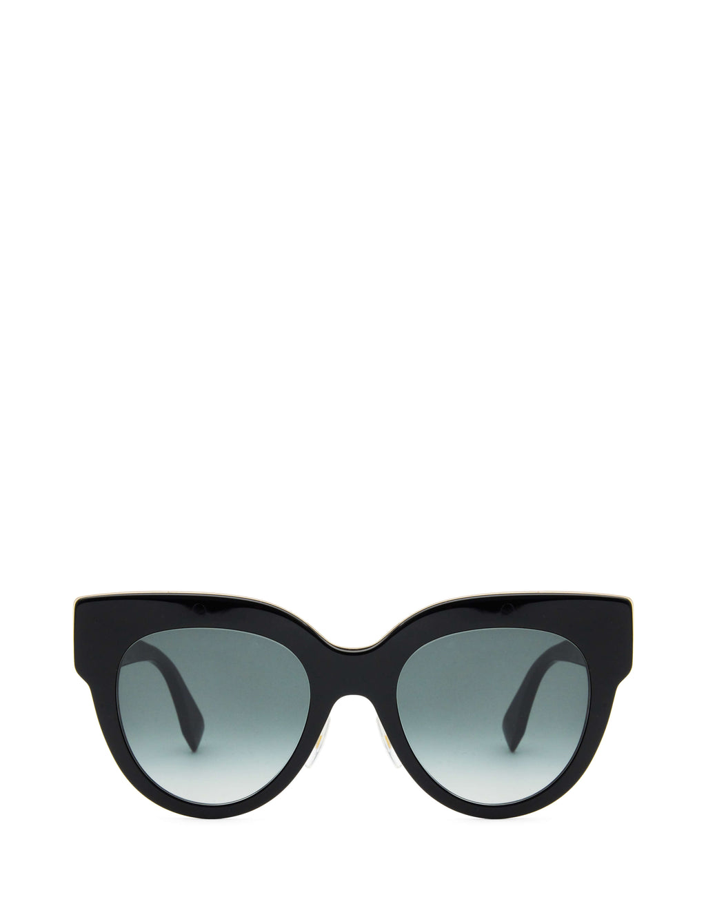 Fendi Eyewear Women's Giulio Fashion Black F is Fendi Sunglasses FF0360GS807