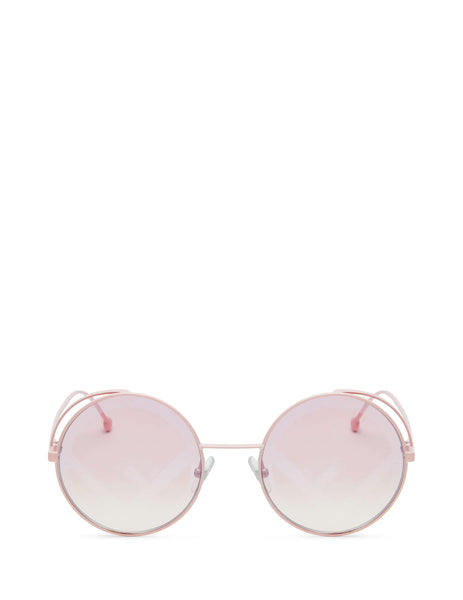 Fendi Eyewear Women's Giulio Fashion Pink Fendirama Sunglasses FF0343S35J