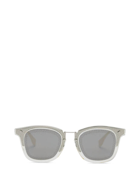 Fendi Eyewear Men's Palladium FF Sunglasses FF M0045/S 010-T4