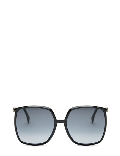 Women's Fendi FF 0431/G/S Sunglasses in Black