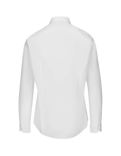 Fendi Men's White Faded FF Shirt FS0817AAP6F0QA0