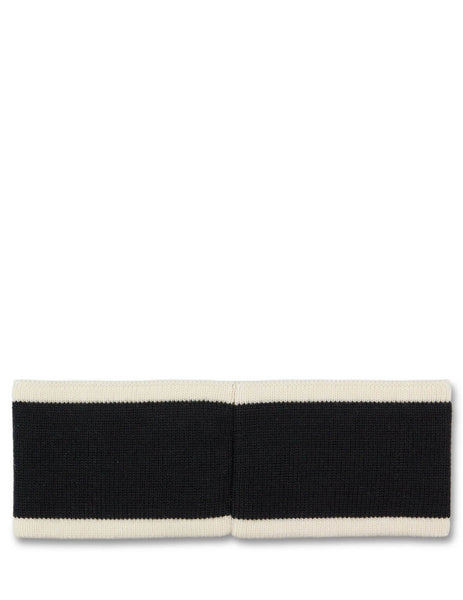 Fendi Men's Giulio Fashion Black Logo Headband FXQ056A88MF03RY