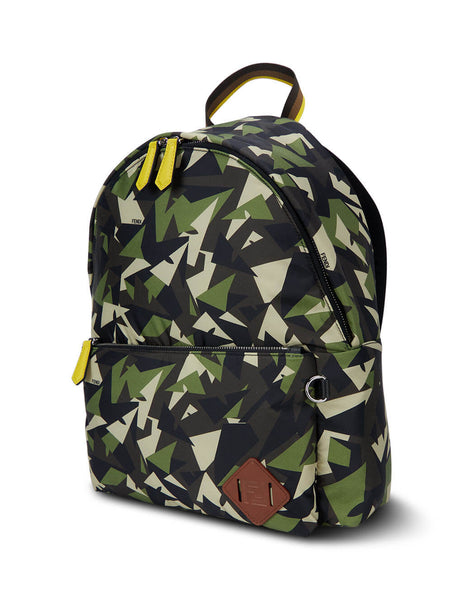 Fendi Men's Green Wonders Backpack 7VZ042AD1EF1BHV