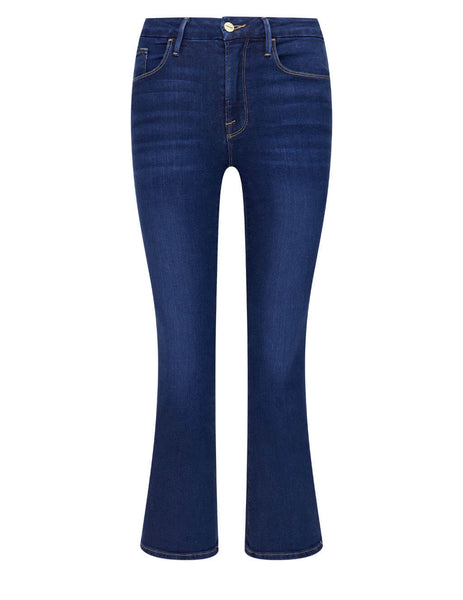 Women's Frame Le Crop Mini Boot Jeans in Cobbert - LCMB230-CBBT