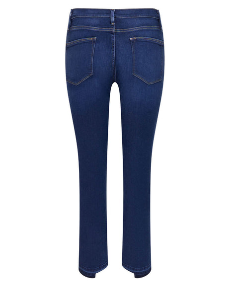Women's Frame Le High Straight Jeans in Cobbert - LHSTRLS230-CBBT