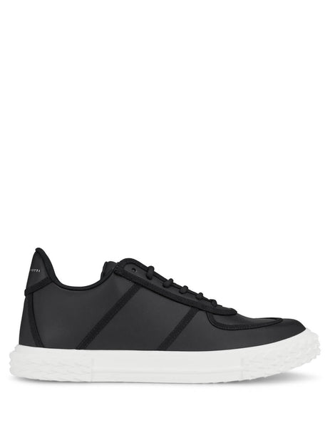 Giuseppe Zanotti Men's Giulio Fashion Black Blabber Sneakers RM00012001